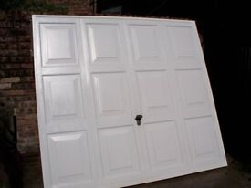 b&q alaska georgean style retractable garage door