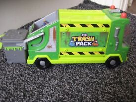 The Trash Pack Rubbish Truck