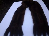 CHARITY SALE: Vintage fur shawl / stole