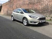 2015/15 FORD FOCUS TITANIUM NAVAGATION 1.0T ECOBOOST ONLY 18,000 MILES