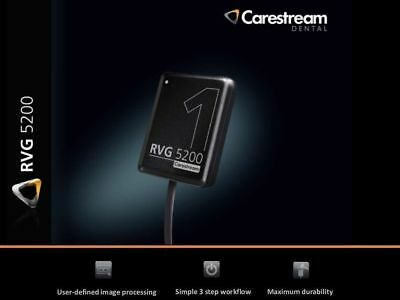 New Carestream Kodak Rvg 5200 Digital X-ray Sensor For Dental X-ray Size 1