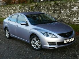 MAZDA 6 2.0 TS. GREAT CONDITION. 6-SPEED. ONE OWNER (PLUS DEALER). GOOD MOT.