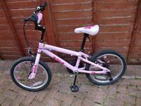 Girls Pink Apollo Kinx Bike