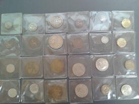 Old British coins