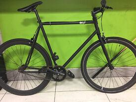 New 6KU Fixie & Single Speed Bike - Nebula 1 black