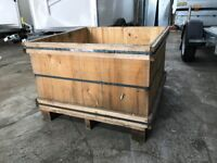 Large raised bedding planter with liners 850 X 850 X 520 OFFERS WELCOME