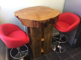 Solid Wooden Breakfast Bar / Large Table