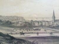 Antique print of Ramsgate, Kent
