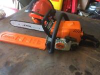 Stihl, sthil , ms180, chainsaw,