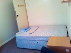 Clean spacious room in a 3 bedroom flat to rent. 344 a month.