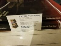 MR ALI Private Tuition Tutor Online Class Only £10 Hour Maths English Science Key Stage GCSE A-Level