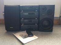 Technics Mini Hi Fi Stereo System 1200 1210 CDJ DJM SDJ HDJ Hi-Fi HiFi