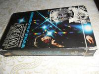 Dr Who Revenge of the Cyberman RARE VHS 1986
