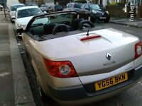 AUTOMATIC 2006 megane convertible 1.6 only 81,000 miles 1 yr MOT stunning