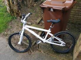 Bmx bike new seat and tyres