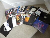 41 Records, mainly 1980's Vinyl 45 rpm