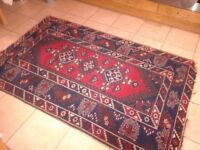Turkish Anatolian Handknotted Dosmealti Carpet Rug 4'x6' Excellent Condition- NO TIME WASTERS PLEASE