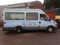 iveco mini bus no mot idel camper or export
