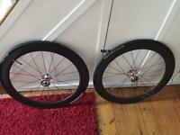 DT Swiss Carbon Track Wheels (fixed wheel)