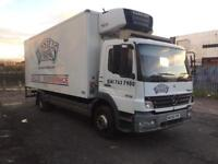 2006 Mercedes atego 1518 fridge freezer chiller box truck