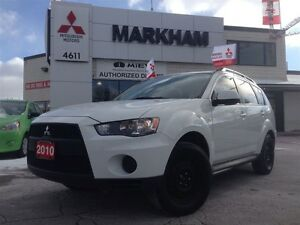 2010 Mitsubishi Outlander ES AWD - LOW KM