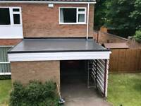 Flat Roofing Work / GRP Liquid Roofing Solutions