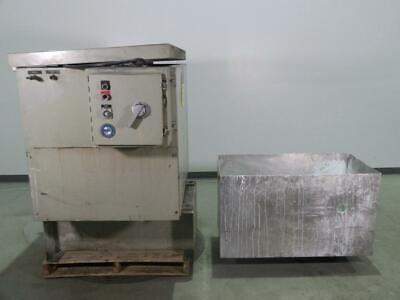 Almco Vb-1631 Vibratory Finisher Tub Deburrer Tumbler