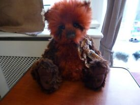 charlie bear RUSSET, limited edition