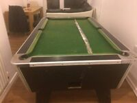 7 x 4 Pub Pool Table & 2 Cues