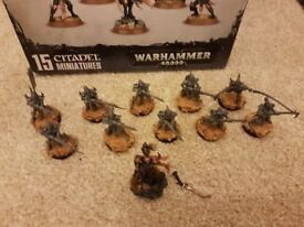 Warhammer 40k Dark Eldar Start Collecting Box Set and Gangs of Commorragh Box