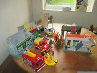 Fireman Sam Figures, Vehicles & Buildings