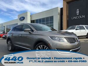 2016 Lincoln MKX Reserve  *Cuir, Toit, Navigation*