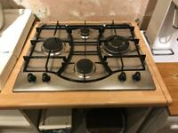 Hotpoint gas hob top