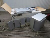 Philips DVD player and surround sound system