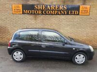 + 57 REN CLIO ONLY 49 K MILES DEC MOT £1290 +