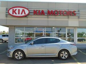 2014 Kia Optima HYBRID save money on fuel FULL WARRANTY / NEW VE