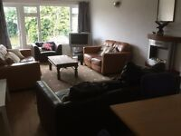 Fully Furnished 6 bed student property in Wollaton near Universities available from August