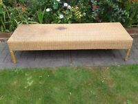 Long Rattan Coffee Table - DELIVERY AVAILABLE
