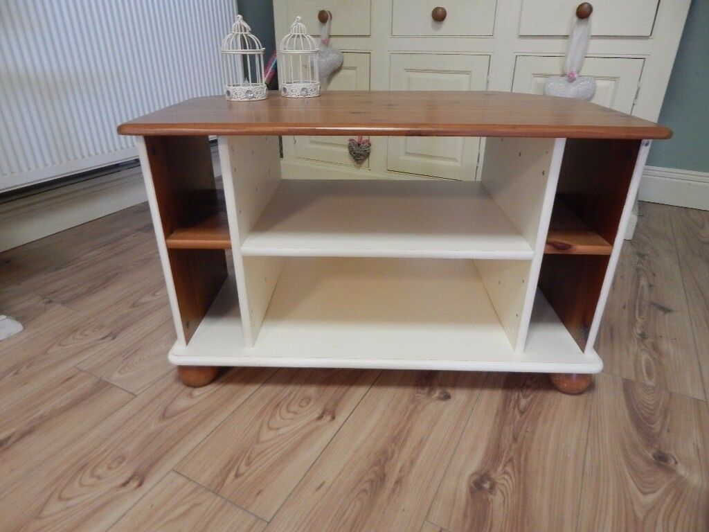 Pine Shabby Chic Corner Tv Stand In Netley Abbey Hampshire