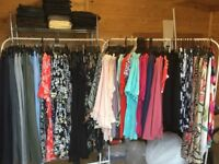 Wholesale joblot of womens new ladies clothing ex chain store ideal for shop market stock