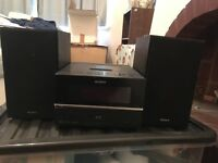 Sony hi-fi with iPod dock for sale