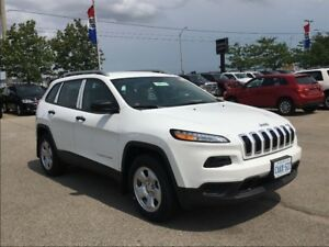 2017 Jeep Cherokee SPORT*4X4*COLD WEATHER GRP