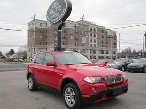 2007 BMW X3 3.0I **PANORAMIC SUNROOF** ~ 123KM ~ AWD !!! AUTO