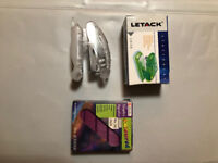 Mini Letack stapler and Purple Rexel staple set