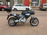 BMW f650cs f650 cs f 650 scarver 18,607 miles motorcycle motorbike 1 years mot