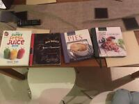 collection of cooking books