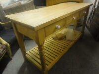 Handmade Kitchen Console Table