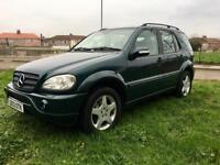 2003 Mercedes ML270 Cdi ///AMG Limited Edition -7 seater
