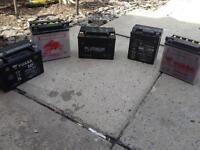 Motorbike battery's bargain