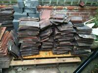Reclaimed clay roofing tiles